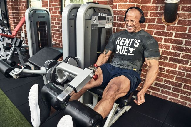 The Rock - Rent's Due - you can't buy fitness